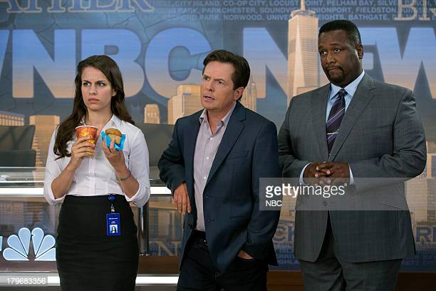 1 Pictured Ana Nogueira as Kay Michael J Fox as Mike Henry Wendell Pierce as Harris