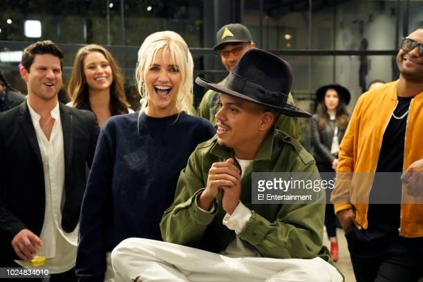 1 Pictured Ashlee Simpson Evan Ross