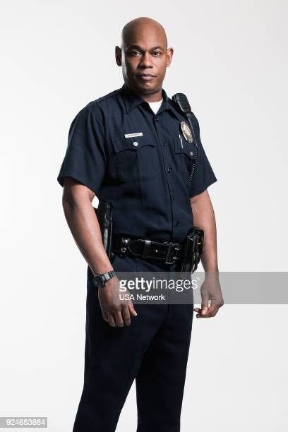 1 Pictured Bokeem Woodbine as Officer In Charge Daryn Dupree