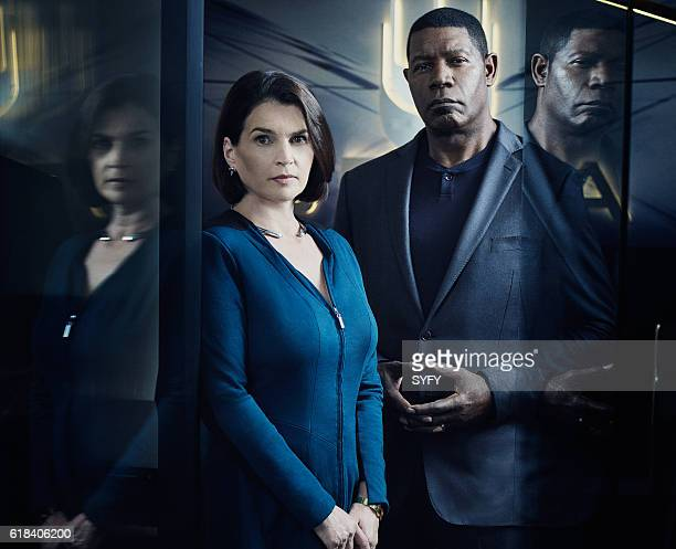 1 Pictured Julia Ormond as Elizabeth Krauss Dennis Haysbert as Julian
