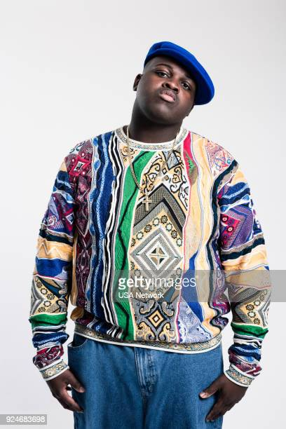 1 Pictured Wavyy Jonez as Christopher 'Biggie' Wallace