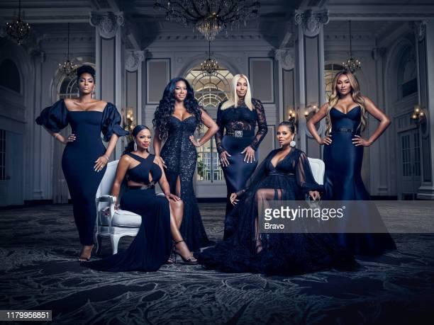 12 Pictured Porsha Williams Kandi Burruss Tucker Kenya Moore NeNe Leakes Eva Marcille Cynthia Bailey