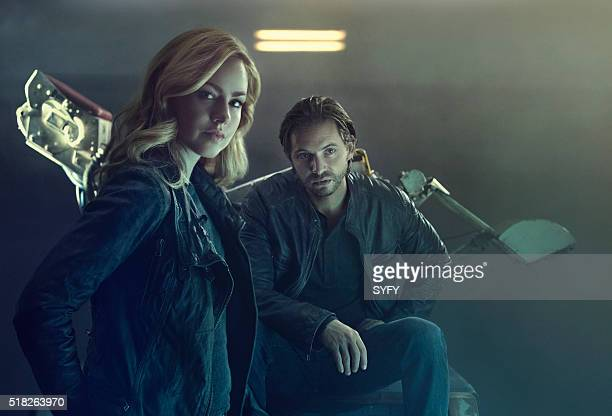 2 Pictured Amanda Schull as Cassandra Railly Aaron Stanford as James Cole