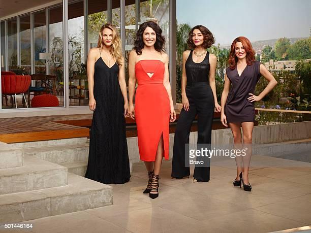 GIRLFRIENDS' GUIDE TO DIVORCE Season2 Pictured Beau Garrett as Phoebe Lisa Edelstein as Abby McCarthy Necar Zadegan as Delia Alanna Ubach as Jo