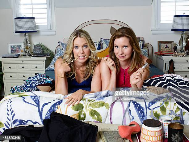2 Pictured Jessica St Clair as Emma Crawford Lennon Parham as Maggie Caruso