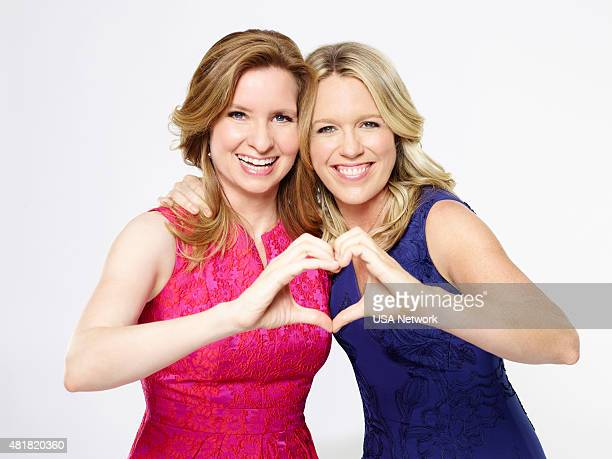 2 Pictured Lennon Parham as Maggie Caruso Jessica St Clair as Emma Crawford