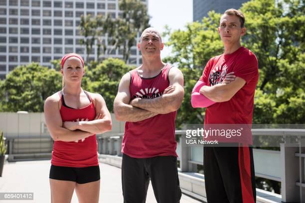 2 Pictured Team NorCal Ninjas Anna Shumaker David Campbell Brian Kretsch