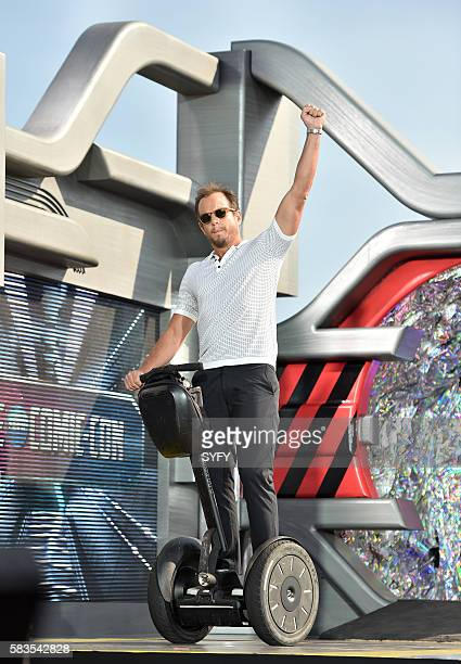 2016 Pictured Will Arnett on a Segway
