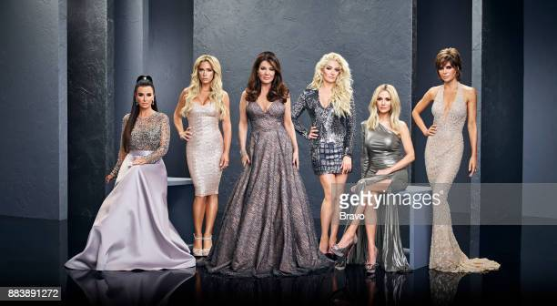 8 Pictured Kyle Richards Teddi Mellencamp Arroyave Lisa Vanderpump Erika Girardi Dorit Kemsley Lisa Rinna