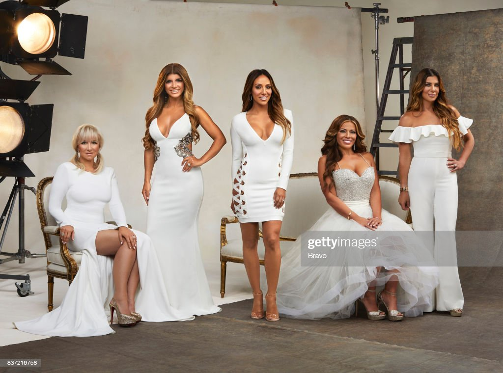 8 -- Pictured: (l-r) Margaret Josephs, Teresa Giudice, Melissa Gorga, Dolores Catania, Siggy Flicker --