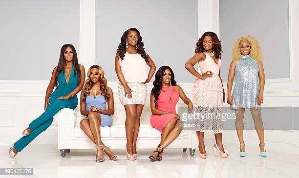 Season:8 -- Pictured: Tammy McCall, Kenya Moore, Cynthia Bailey, Kandi Burruss, Porsha Williams, Phaedra Parks Nida, Kim Fields --
