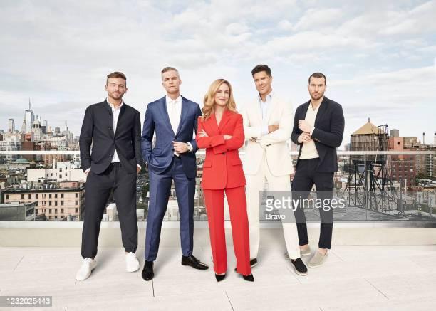 Season:9 -- Pictured: Tyler Whitman, Ryan Serhant, Kirsten Jordan, Fredrik Eklund, Steve Gold --