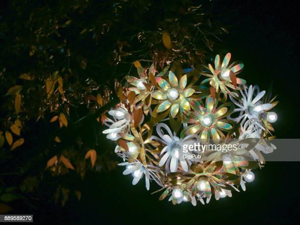 Seasonal decorative light on the main street of Ginza