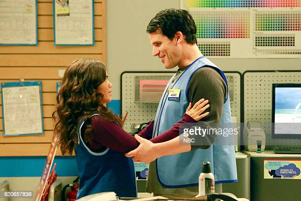 SUPERSTORE 'Seasonal Help' Episode 209 Pictured America Ferrera as Amy Ryan Gaul as Adam