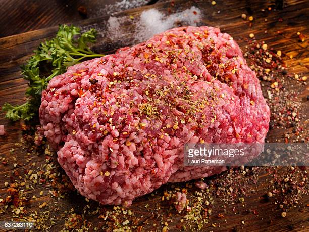 Seasoning 100% Raw Ground Lamb