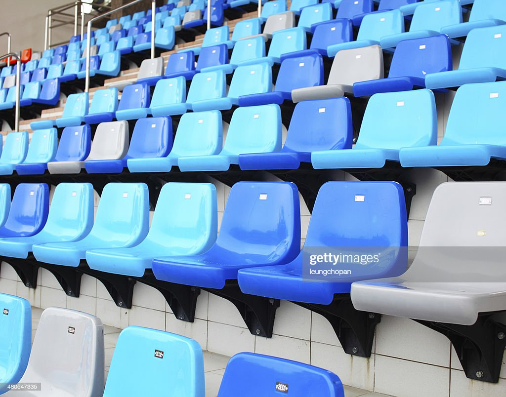 Seat in stadium : Stock Photo
