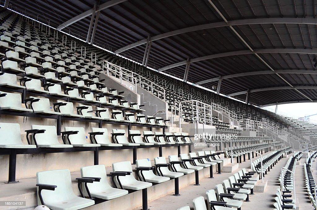 Seat in the stadium : Stock Photo
