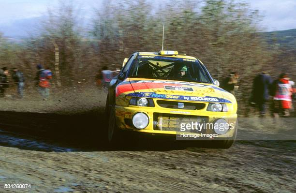 Seat wrc on 1998 network Q rally 2000