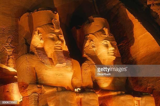 Seated Colossi of Ramesses II at Abu Simbel