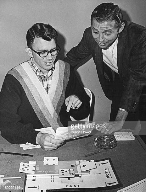 AUG 29 1965 951965 Seated left Peter Rank Standing right Barry Crane