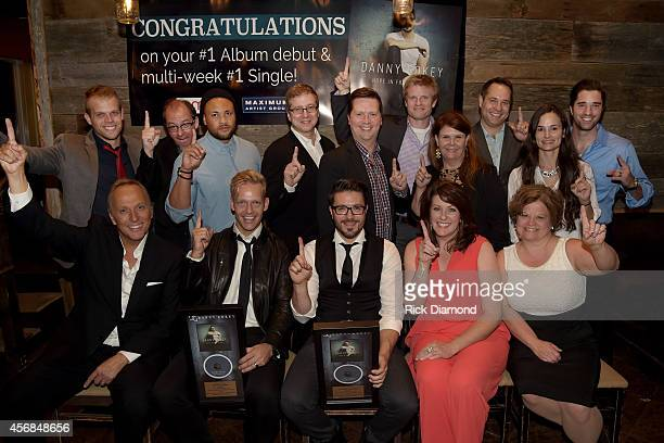 Seated Mitchell Solarek Bernie Herms Danny Gokey Penny Railey and Carol Roundtree Standing Matt Ingle Chris Hauser Josh Crosby Richard Blackstone...