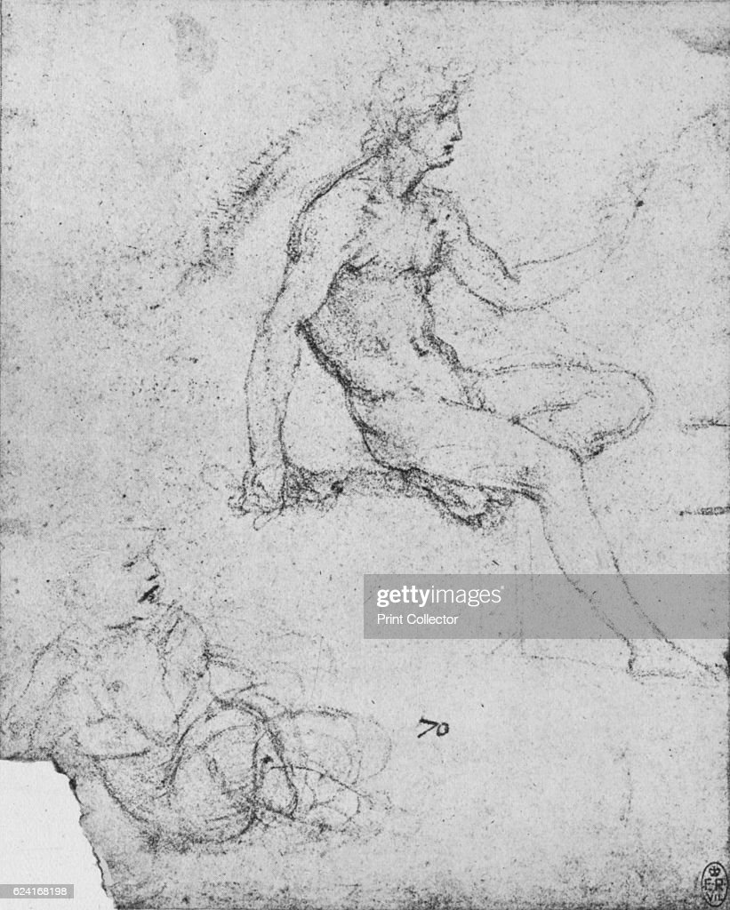 Seated Nude with Child with Lamb\', c1480 Pictures | Getty Images