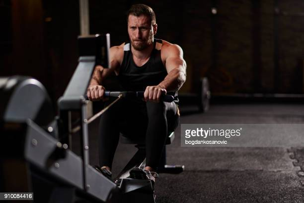 Seated rowing