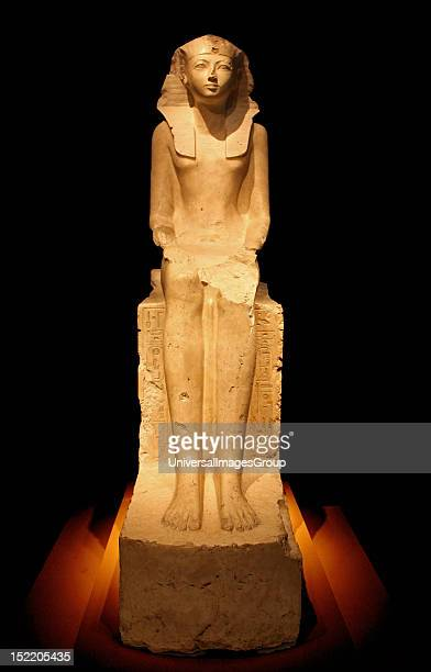 Seated Statue of Queen Hatshepsut circa 1473–1458 BC Egypt Upper Egypt Thebes Deir elBahri