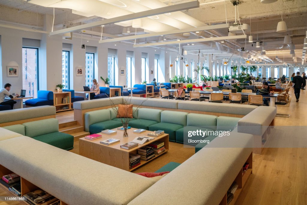 NY: Inside A WeWork Space Ahead Of Planned IPO