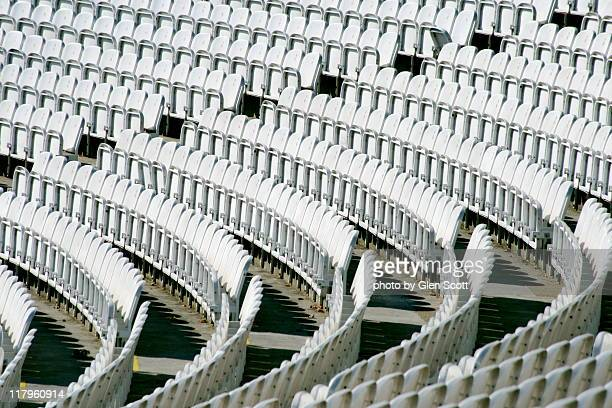 seats at lords cricket ground - cricket pitch stock pictures, royalty-free photos & images