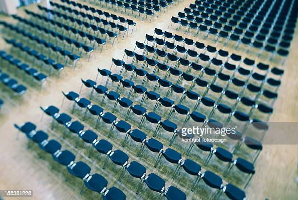 Seats in an audience