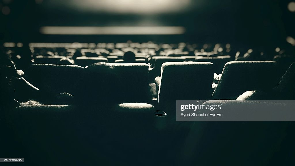 Seats In Theater : Stock Photo