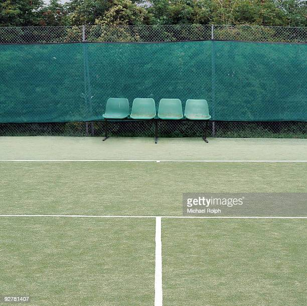 Seats Symmetrically Placed in Tennis Court