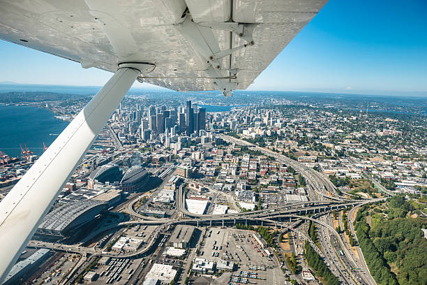 Seattle Aerial View Wall Art