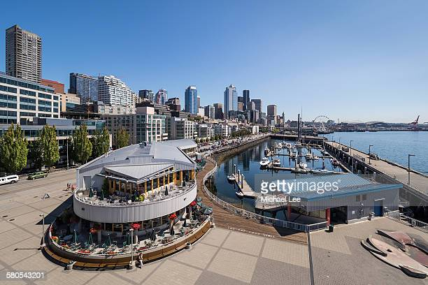 Seattle central waterfront