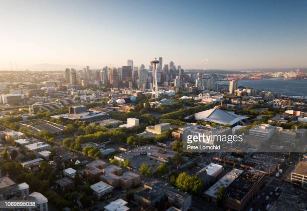 seattle city - seattle stock pictures, royalty-free photos & images