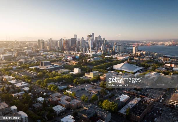 seattle city - seattle foto e immagini stock