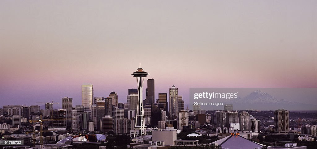 Seattle Cty Scape : Stock Photo