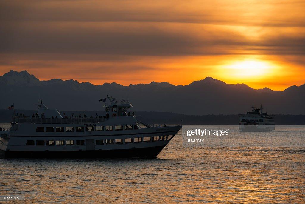 Seattle oro : Foto stock
