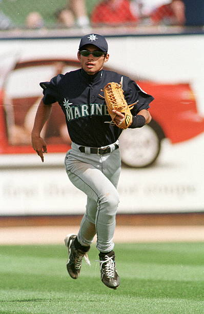 Seattle Mariners Ichiro Suzuki of Japan runs down Pictures | Getty