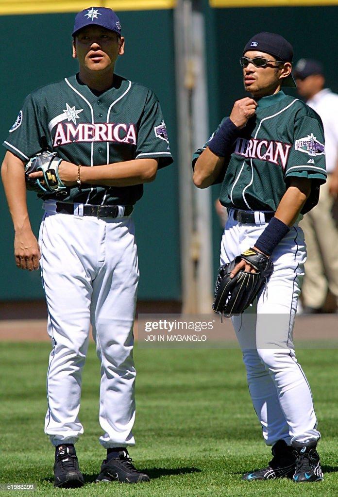 Ichiro Mariners 2001