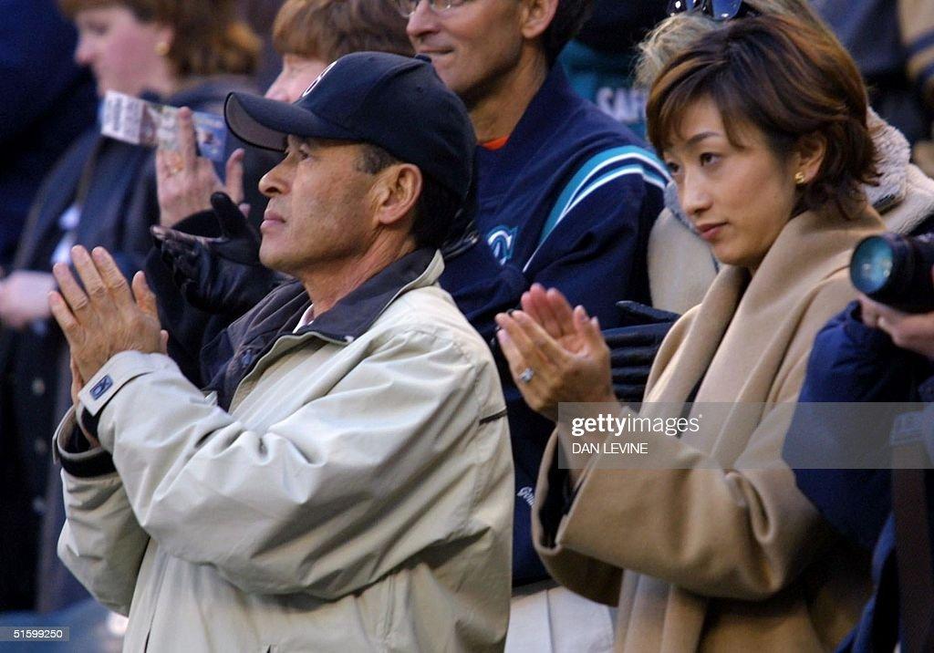 Seattle Mariners player Ichiro Suzuki's father Nob Pictures | Getty