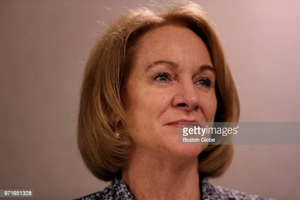 Seattle Mayor Jenny Durkan listens during a panel discussion on housing during the 2018 United States Conference of Mayors at the Marriott Copley...