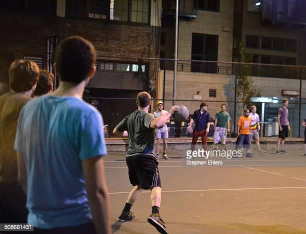 Seattle Night Dodgeball Game