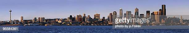 Seattle Panorama before sunset