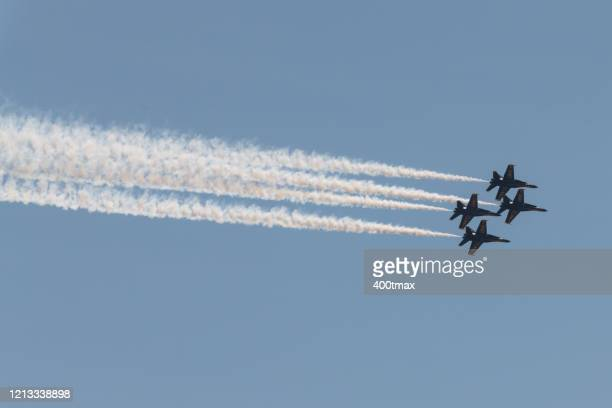 seattle - blue angels stock pictures, royalty-free photos & images