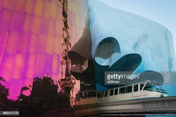 シアトル - エクスペリエンスミュージックプロジェクト ストックフォトと画像