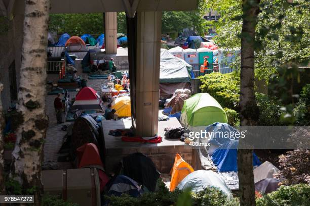 seattle - homeless stock photos and pictures