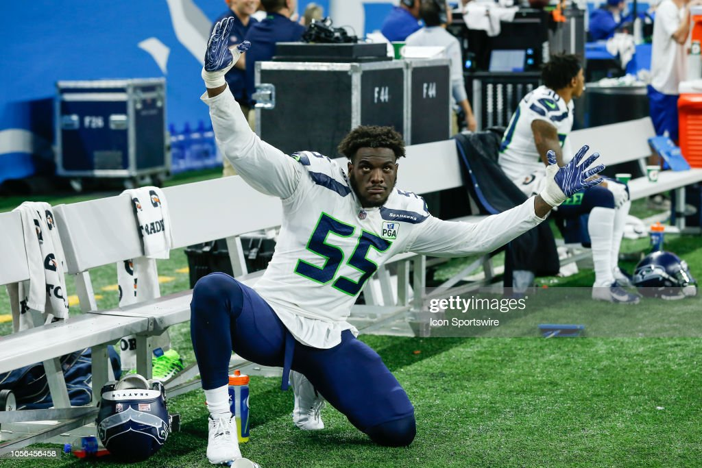 NFL: OCT 28 Seahawks at Lions : ニュース写真