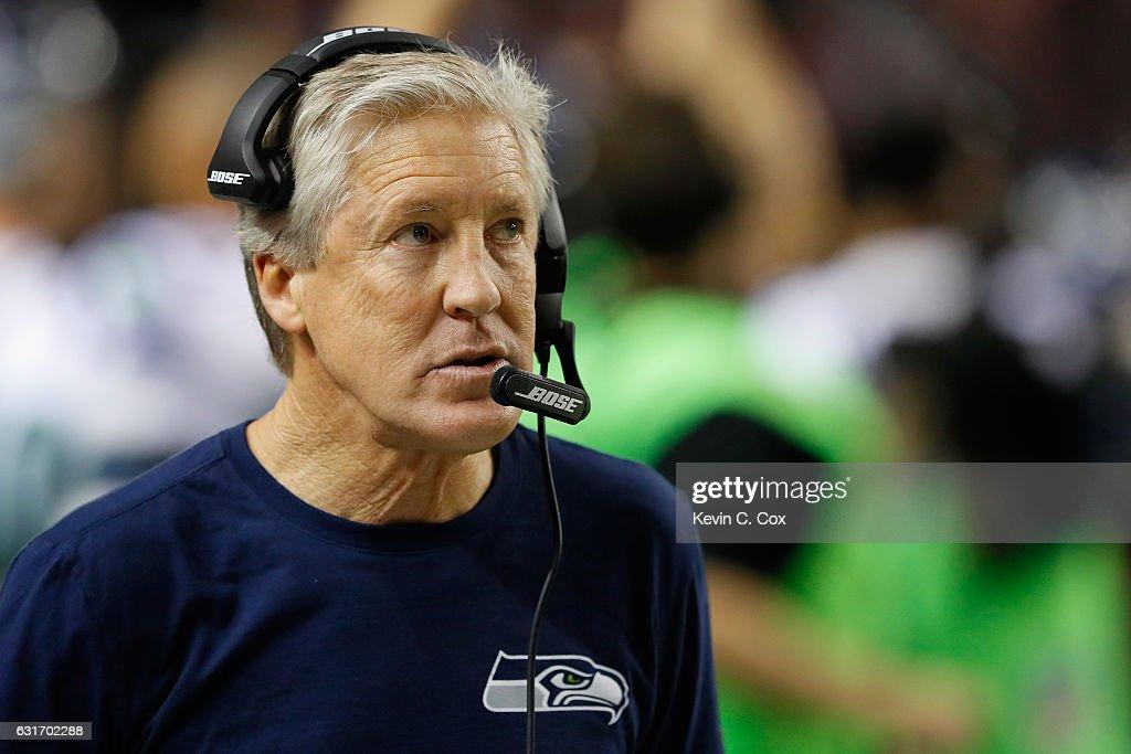 Divisional Round - Seattle Seahawks v Atlanta Falcons : News Photo